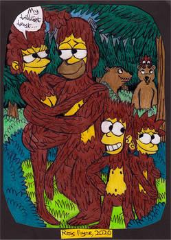 The Simpsons - Bigfoot's Family