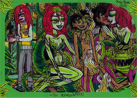 Crossover - Poison Ivy and Mowgli