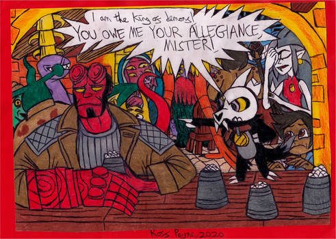 The Owl House - Hellboy Crossover