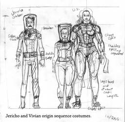 UltraVixen Origin Costumes #2 by MaelstromMediaComics