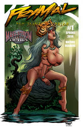 Prymal: The Jungle Warrior #1 Tim Vigil nude cover by MaelstromMediaComics