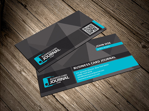 Unique business card template with qr code by designslots on deviantart unique business card template with qr code by designslots reheart Images