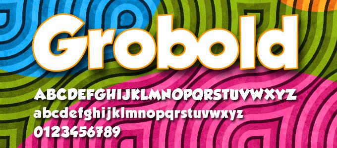 Grobold Free Font Download By Designslots On Deviantart
