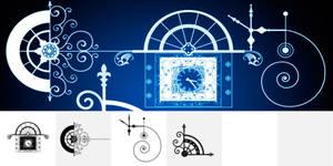 Starwalt Steampunk Brushes by Designslots