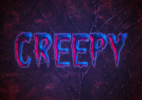 Create a Creepy Halloween Text Effect in Photoshop