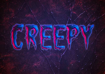 Create a Creepy Halloween Text Effect in Photoshop by Designslots
