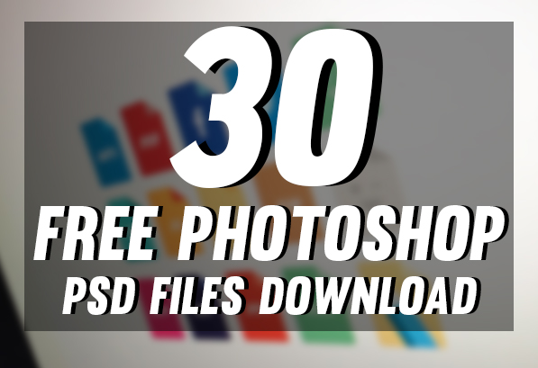 30 New Photoshop Free PSD Templates Download by Designslots