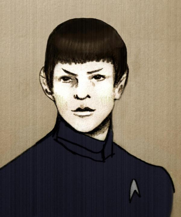 Commander Spock by fightingnaturalist