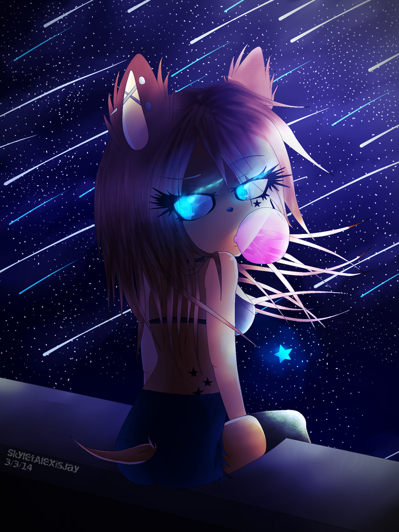 ..:Watching.Shooting.Stars.Go.By:.. by SkyletAlexisJay