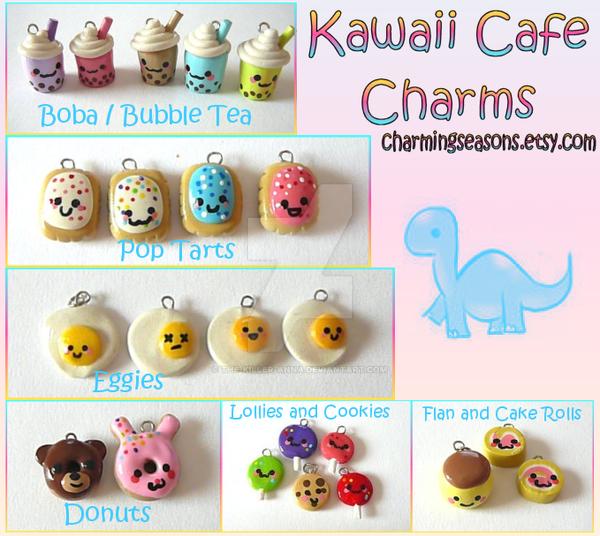 Kawaii Charms by The-Killer-Anna