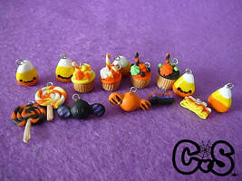 Halloween Candy Charms by The-Killer-Anna