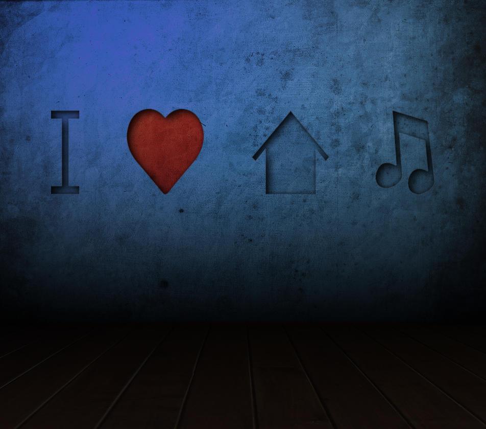 I love house music by leo designs on deviantart for House music art