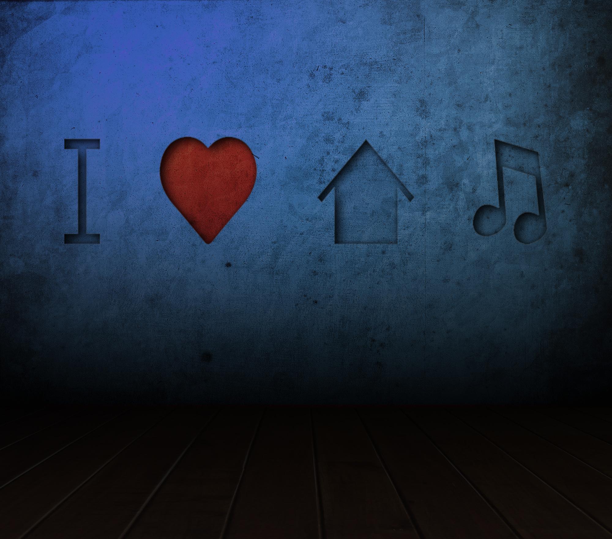 I love house music by leo designs on deviantart for House music 2009