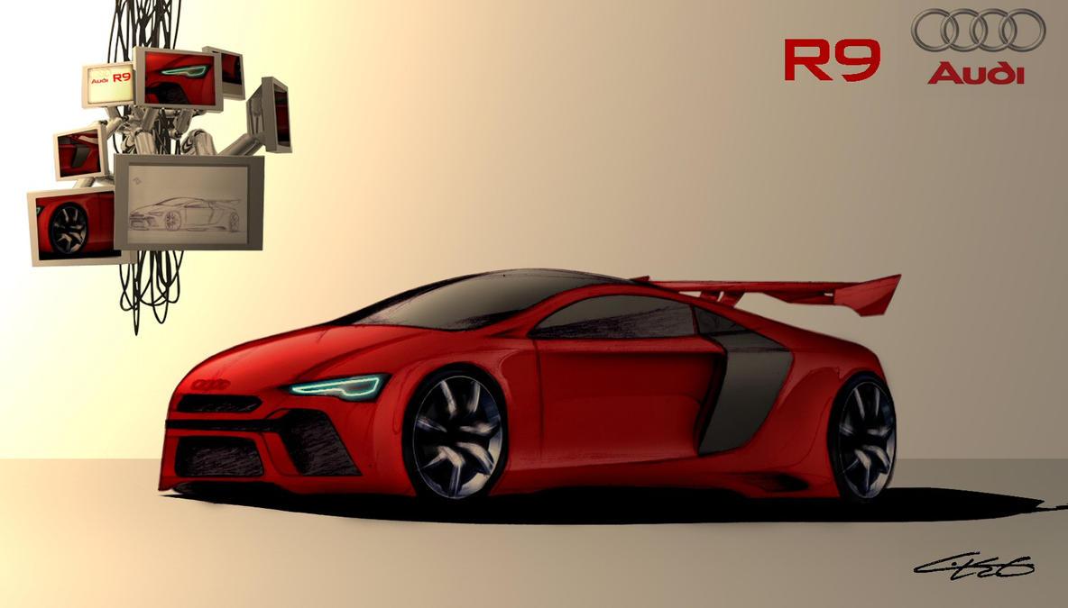 audi r9 by leo designs on deviantart. Black Bedroom Furniture Sets. Home Design Ideas