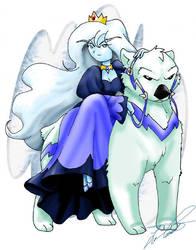 Ice Queen and Gertrude
