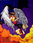 Finished HawkGirl