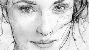 every poet is a thief _detail Rachel Weisz by grafnarq