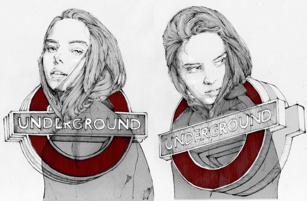 Underground | Caitlin Ricketts by grafnarq
