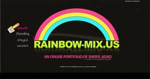 Rainbow-Mix splash page