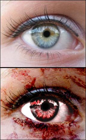 eye manipulation by pSDesigner