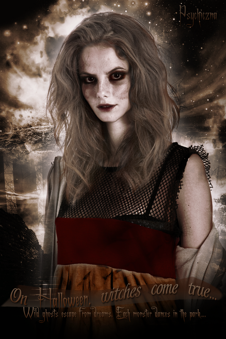 Hello Halloween by Psychicznax