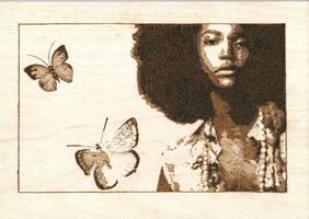 Afro Butterfly by Ceezar1