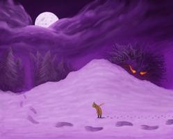 Trail in the Snow by AdamDangeArt