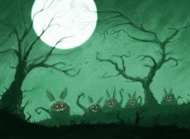 Critters by AdamDangeArt