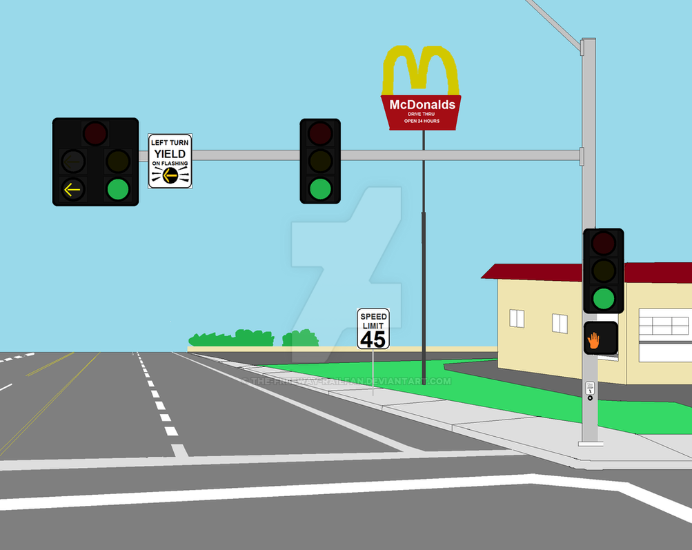 yellow arrow traffic light -#main