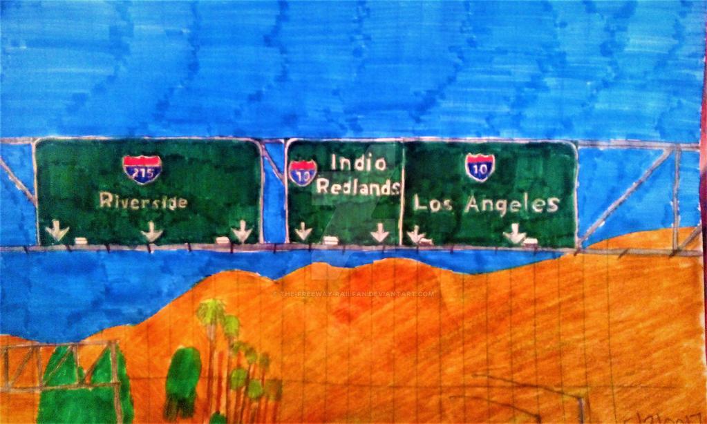 I-215 Riverside I-10 Indio Redlands Los Angeles by The