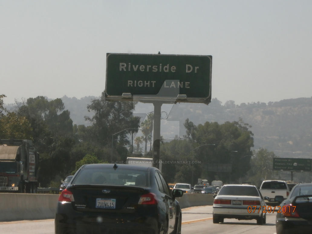 Riverside Drive Right Lane by The-Freeway-Railfan on DeviantArt