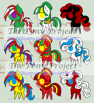 Flag adopts Sheet 5 (6 LEFT) by The-Pony-Project