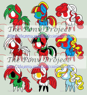 Flag Adopts Sheet 6 (5 LEFT) by The-Pony-Project