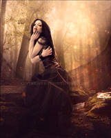 Heart of Forest by Consuelo-Parra