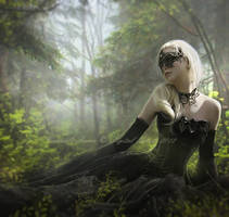 The Green Forest by Consuelo-Parra