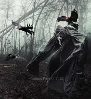 The Spirits of Ravens by Consuelo-Parra
