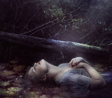 Ophelia's Death by Consuelo-Parra