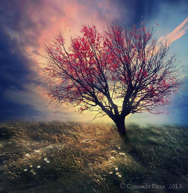 Mystic tree by Consuelo-Parra