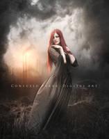Burnig heart by Consuelo-Parra