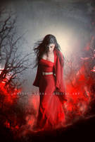 Red fire by Consuelo-Parra