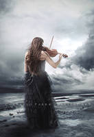 The Storm's Melody by Consuelo-Parra