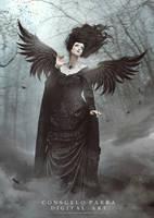 Dark angel by Consuelo-Parra