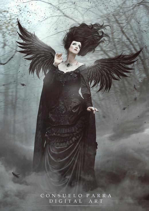 Dark angel by Aeternum-designs