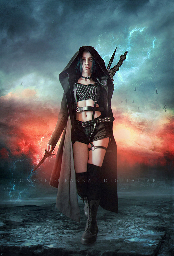 Dark hunter by Consuelo-Parra