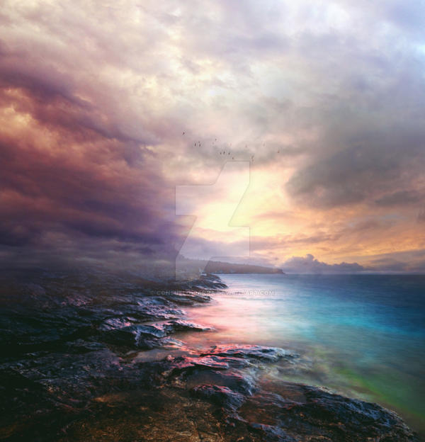 Dreamy sea II - premium stock