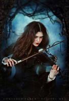 Dark symphony II by Consuelo-Parra