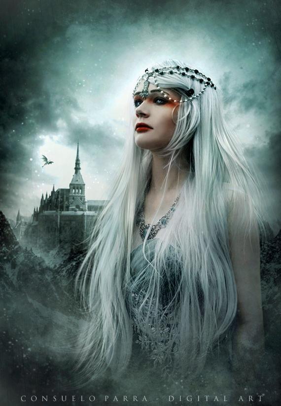 Castle of heaven by Consuelo-Parra
