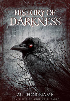 History of darkness - premade book cover available