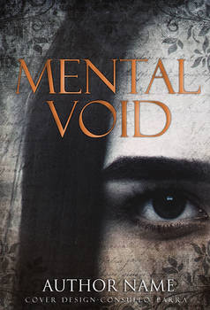 Mental void - premade book cover