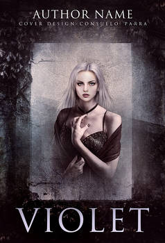 Violet II- premade book cover